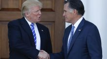 Romney and Trump have a long-running love-hate relationship