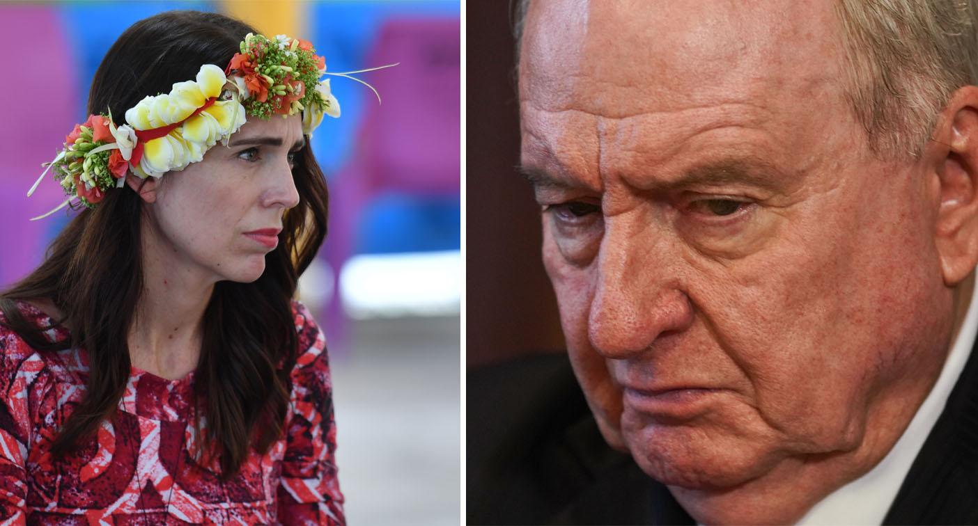 'Vile and repulsive': Alan Jones attacked over more comments about Jacinda Ardern