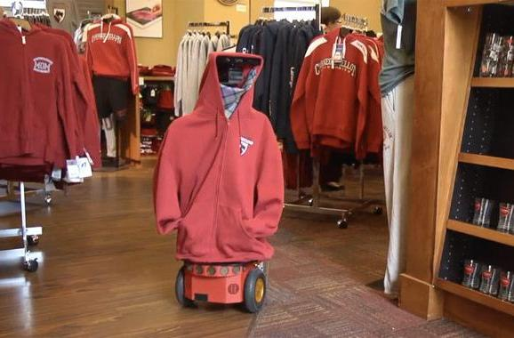Carnegie Mellon researchers develop robot that takes inventory, helps you find aisle four