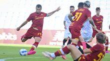 Roma-Siviglia 0-0, non bastano Dzeko e Zaniolo
