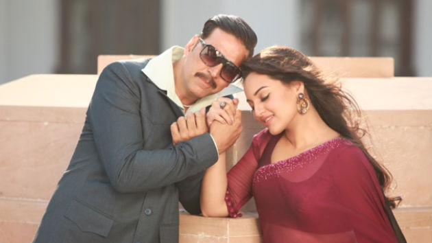 Sonakshi romances two men