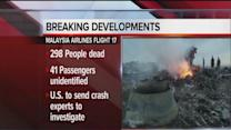 11PM Update: Malaysia Airlines Boeing 777 shot down over Ukraine, 298 on board