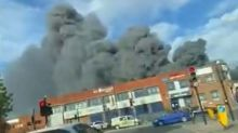 Park Royal fire: About 80 firefighters tackle 'severe' blaze affecting bakery and restaurant in west London