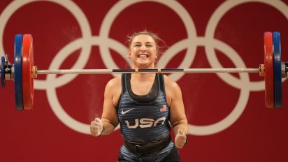 Bipolar American weightlifter takes home silver