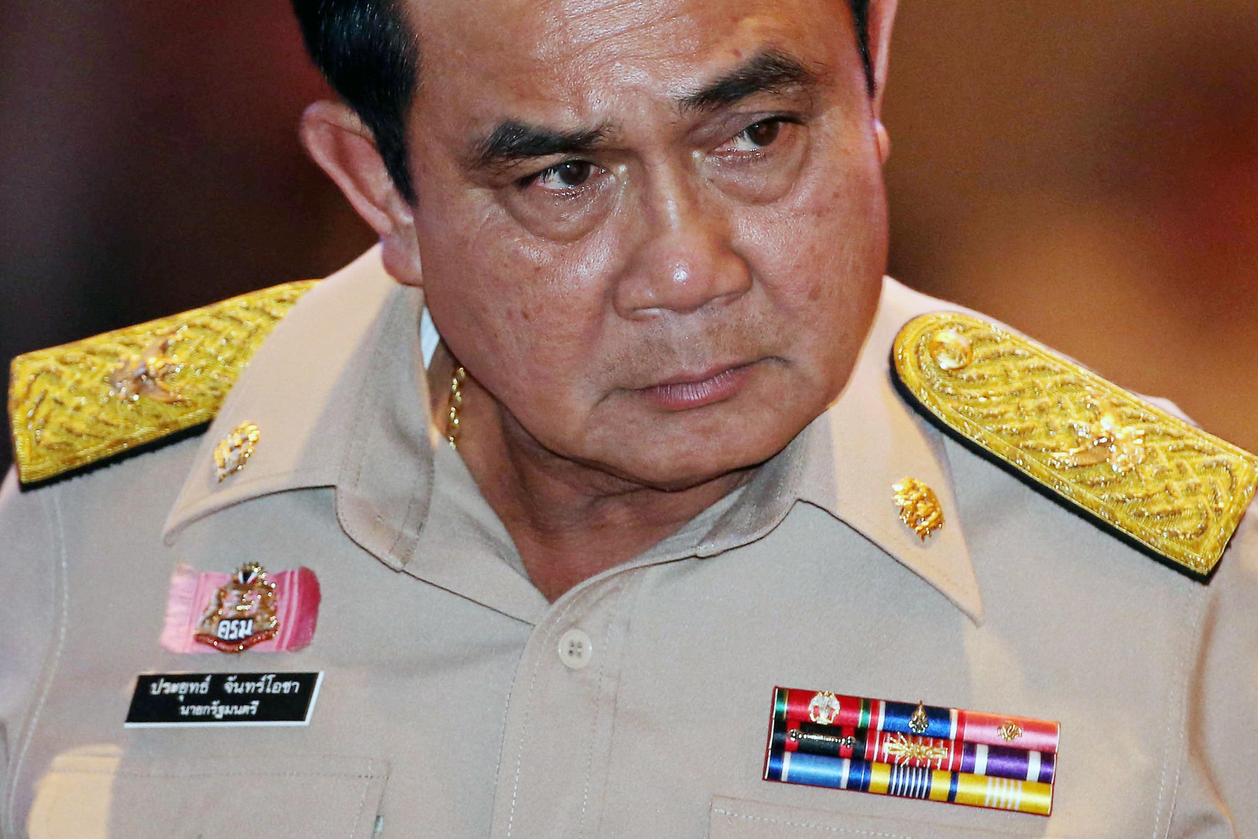 Thai Junta Leader Warns Opposition Not to Monitor Upcoming Referendum