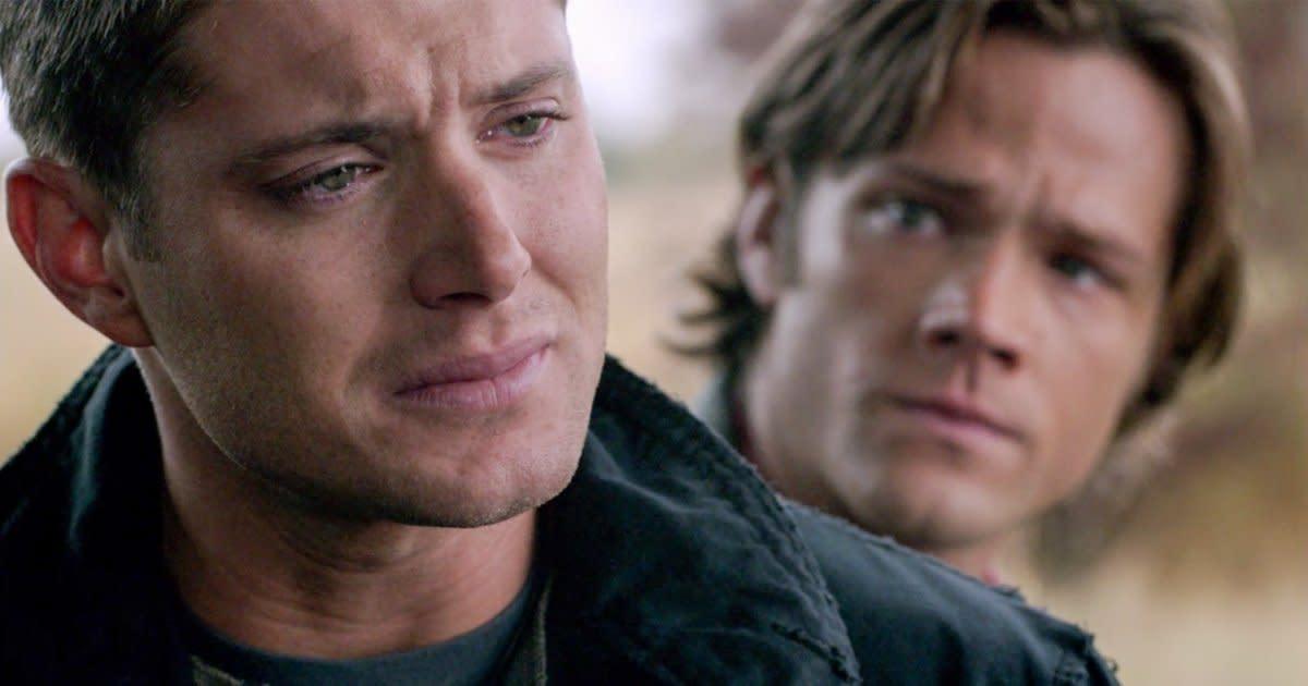 картинки сверхъестественного актеры со слезами на глазах таким аксессуаром