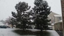 Thundersnow Rumbles Over Centennial During Spring Snowstorm