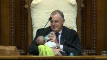 New Zealand House Speaker Babysits Colleague's Newborn During Parliament Debate