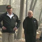 Trump Visits Areas Devastated by Camp Fire as Death Toll Rises to 76