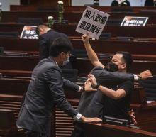 Hong Kong bans insults to China's national anthem