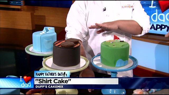 Bake A Cake For Dad With Tips From Duff Goldman Video