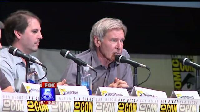 Harrison Ford Talks Han Solo At `Ender`s Game` Panel