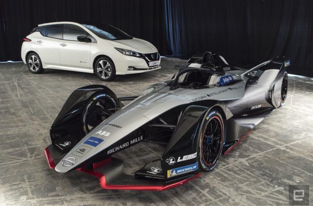 Nissan's debut Formula E design is inspired by the Doppler effect