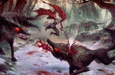 American McGee's Little Red Riding Hood looks pretty Grimm