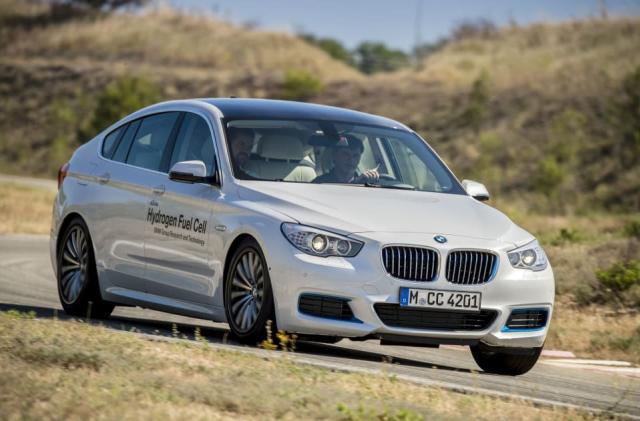 BMW has a hydrogen-powered 5 Series