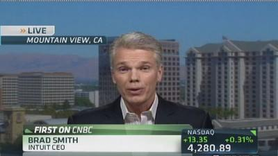 Intuit CEO: Mobile platform shifted tax industry landscap...