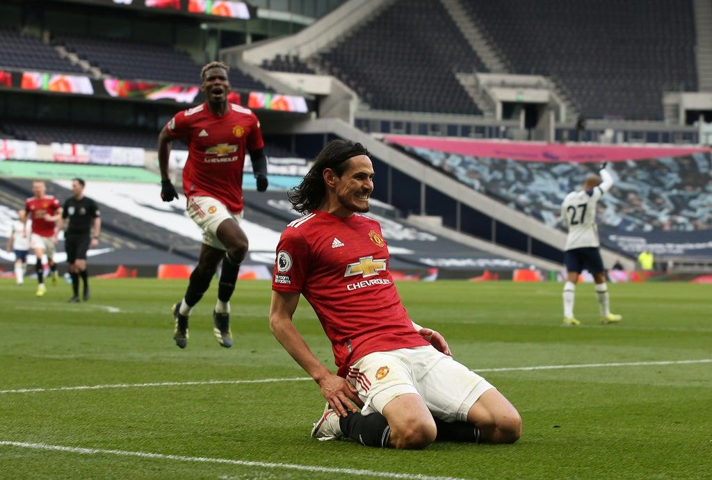 Tottenham vs Manchester United: Five things we learned as Edinson Cavani completes Premier League comeback