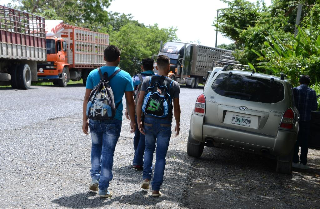 Every year, between 80,000 and 100,000 Hondurans trek north in an attempt to get into the United States, according to estimates by humanitarian groups