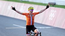 An underdog cyclist was so dominant that the silver medalist thought she won gold