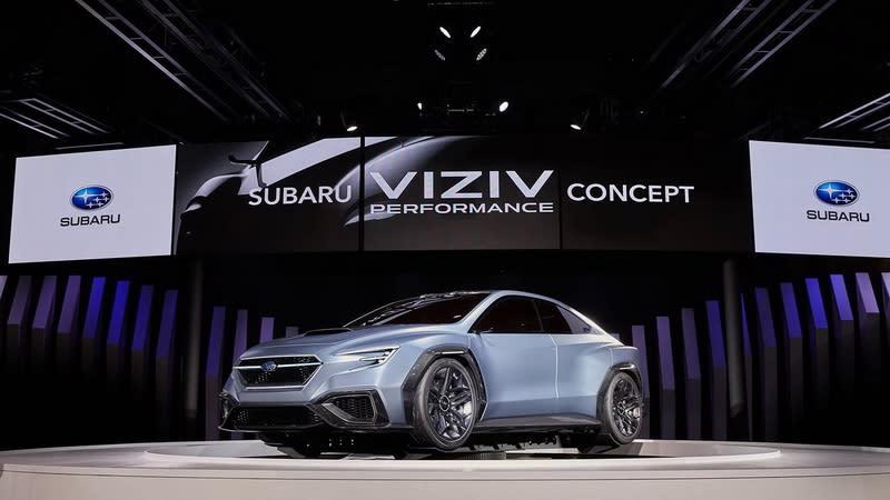 圖為2017東京車展Viziv Performance concept