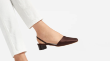 Everlane's new slingbacks will make any holiday outfit perfect