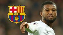 """Wijnaldum jugó al misterio cuando le preguntaron sobre el Barcelona: """"No puedo decir nada"""""""