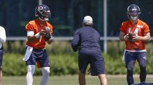 WATCH: Bears rookies and quarterbacks hit the practice field at training camp