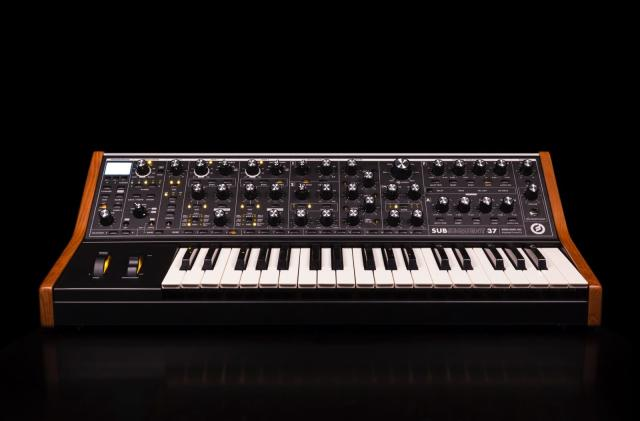 Moog debuts full production model of its Subsequent 37 analog synth