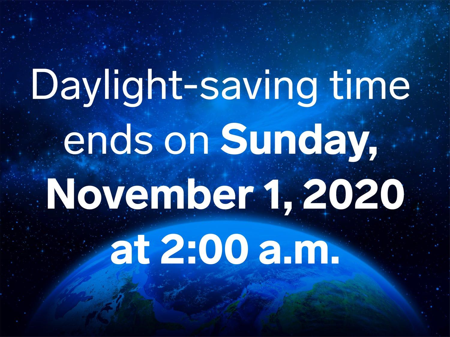 Daylight-saving time is literally killing us — but at least we'll get a little extra sleep this Sunday