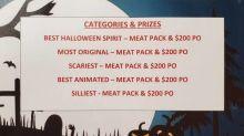 Stanley Mission raising spirits through Halloween decorating contests