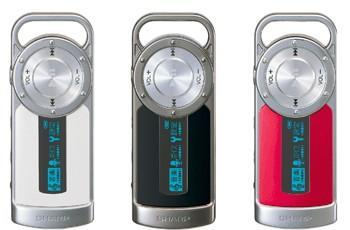 Sharp returns to carabiner form with MP-S700/S800 DAPs