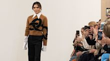 Victoria Beckham had to give her bra to one of the models right before her fashion show