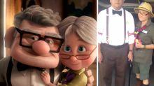 Casal de idosos faz sucesso com fantasias de personagens famosos