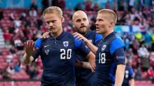 Eriksen condition 'stable' after collapse; Finland beat Denmark