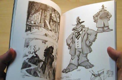 Raffle: Sam & Max goodies, like a signed sketchbook and GameTap time [update 1]