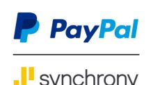 PayPal and Synchrony Complete Consumer Credit Receivables Sale