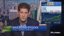 What's driving railroad stocks? Analyst explains