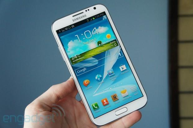 Galaxy Note II (GT-N7100) getting Android 4.1.2 update