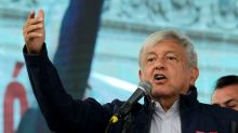 Mexico's next president vows security for banks in Santander meeting