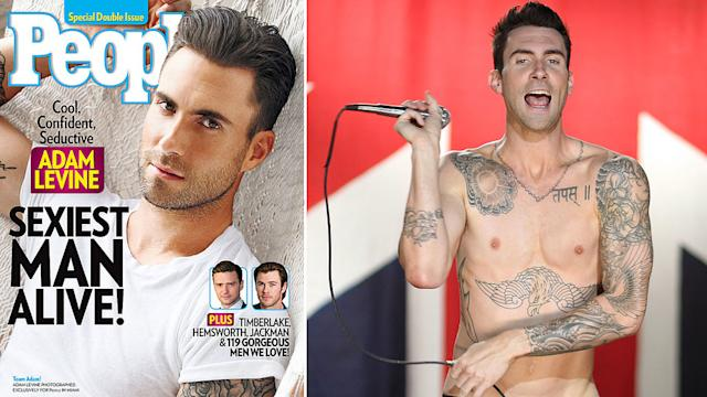 Adam Levine Isn't the Only Guy Singled Out For His Sexiness