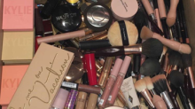 Kim K revealed a whole lot with her makeup drawer