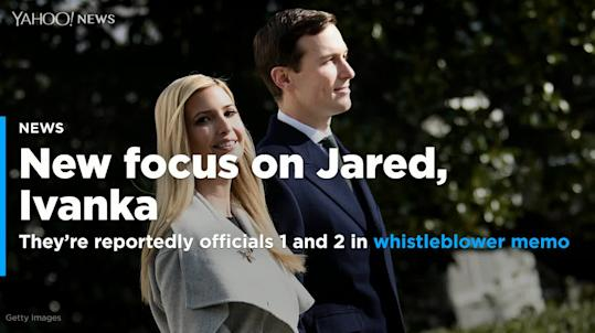 Jared Kushner and Ivanka Trump under fresh scrutiny after