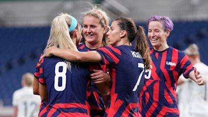 Women's apparel company gives USWNT $1M