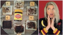 Fierce debate breaks out over photo of Vegemite on toast