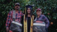 El conmovedor tributo de una joven a sus padres inmigrantes y trabajadores agrícolas