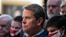Georgia Gov. Brian Kemp says that voters waiting in long lines can order from Uber Eats