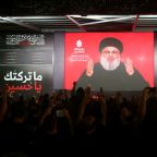 Hezbollah leader Nasrallah says group will stay in Syria until further notice