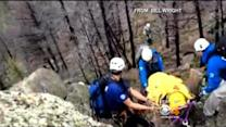 Trail Runner Describes 'Scary' Fall And Tricky Rescue