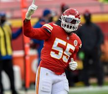 Kansas City Chiefs' Frank Clark arrested on gun charge. It's his second this offseason