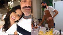 Após divórcio de Gusttavo Lima, Andressa Suita curte festa com amigos